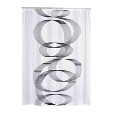 Curvo Shower Curtain, 180x200 cm