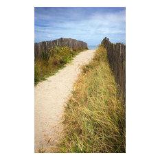 """""""Pathway to the Ocean"""" Garden Wall Hanging, 122x200 cm"""