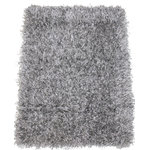 "Koeckritz Rugs - Kane Carpets, Tempera Shag Area Rug, Pyrite, 6""x6"" Sample - -Fiber: 100% Heatset Eurolon"