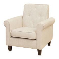 GDF Studio Barzini Fabric Club Chair