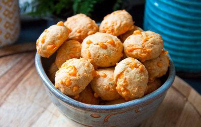 Aux fourneaux : Des cookies salés à la mimolette et au romarin