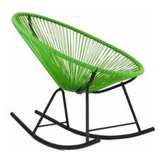 Great Design Tree Home   Acapulco Rocking Chair, Green   Outdoor Rocking Chairs