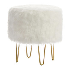 Fine 50 Most Popular Faux Fur Ottomans And Footstools For 2019 Andrewgaddart Wooden Chair Designs For Living Room Andrewgaddartcom