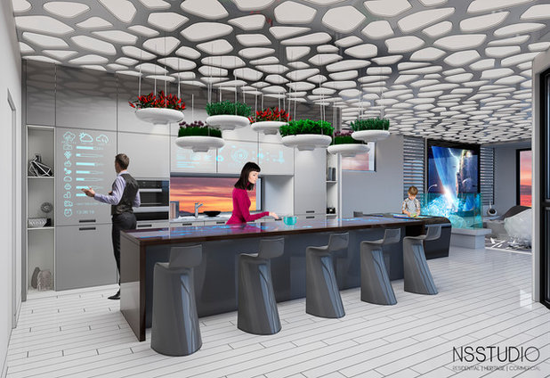 House of the Future Kitchen
