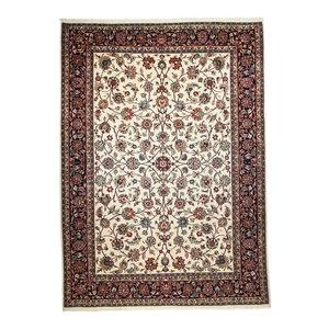 Mashhad Sherkat Persian Rug, Hand-Knotted, 350x250 cm