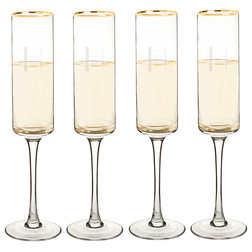 Contemporary Wine Glasses by Cathy's Concepts
