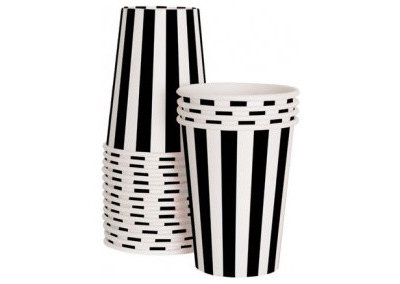 Modern Disposable Cups by Sweet Lulu