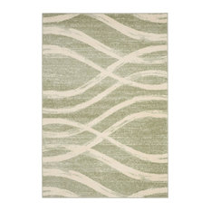 Adirondack Area Rug, Rectangle, Sage-Cream, 9'x12'