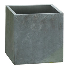 Kasa Modern   Modern Concrete Square Pot Planter   Outdoor Pots And Planters