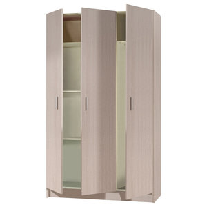 Vita Multi-use Oak 3 Door Cupboard