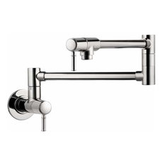 Hansgrohe 4218 Talis C Wall Mounted Double-Jointed Pot Filler