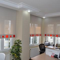 Vorhang Rollo Mit Plexiglas Acrylglas