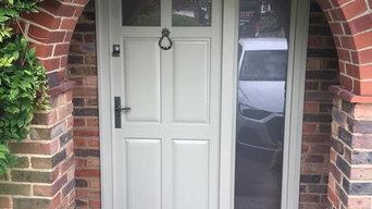 Haywards Heath - New timber Door and Frame