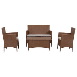 Traditional Outdoor Dining Sets by Safavieh