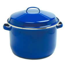 Norpro Blue Porcelain Porcelain Enamel Canning Pot,  18 Quart