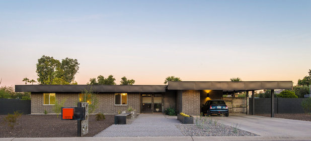 House Tour Highlights From Modern Phoenix Week - Guirey-residence-arizona-architecture-classic
