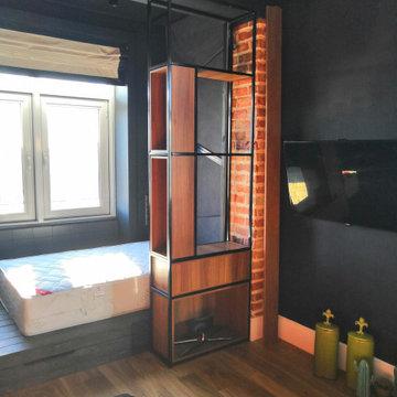 """Мебель для квартиры на Петроградке. В стиле """"Лофт"""""""
