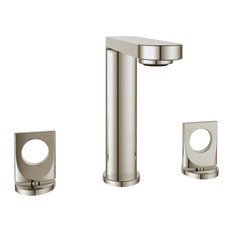 Fresh Widespread Faucet Knobs and Drain, Polished Nickel