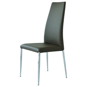 Elettra Eco-Friendly Leather Chairs, Set of 2