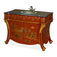 China Furniture And Arts   French Style Vanity Cabinet   Bathroom Vanities  And Sink Consoles
