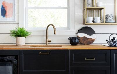 20 Stylish Kitchen Sink Setups