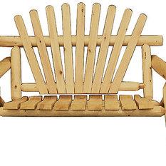 Indoor Cedar Love Seat