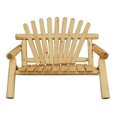 Outdoor Cedar Love Seat