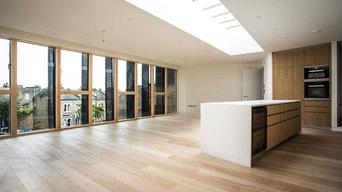 Istoria Bespoke Pale Oak designed by Golden Houses