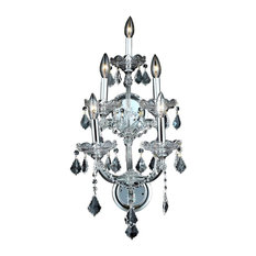 2800 Maria Theresa Collection Wall Sconce, Clear, Royal Cut