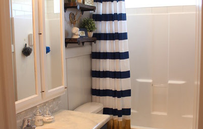 She's Baaack! See a Savvy DIYer's Dramatic $400 Bathroom Makeover
