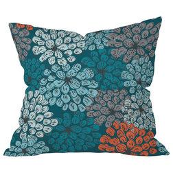 Contemporary Decorative Pillows Khristian A. Howell Greenwich Gardens 3 Throw Pillow