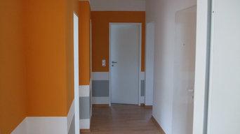 Gestaltung einer Wohnung