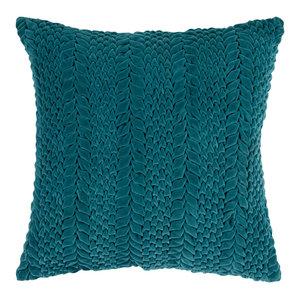 Velvet Luxe Pillow 18x18x4, 18 X 18 X 4