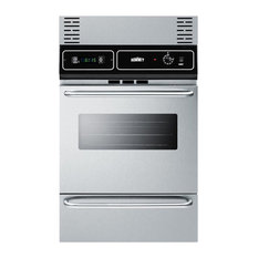 "24"" Electric Wall Oven With Stainless Steel Door TEM721BKW"