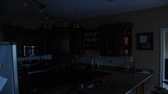 Sun Tunnels in the Kitchen