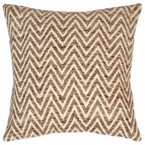 Zigzag Cotton Cushion Covers, Set of 2