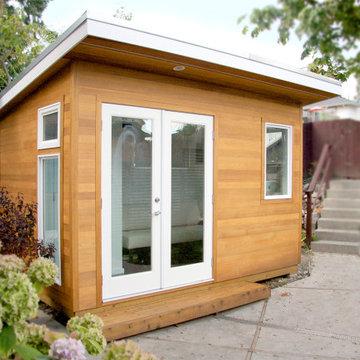 Kallio Backyard Studio Office