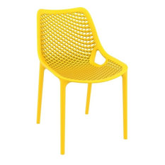 Air Dining Side Chair, Yellow