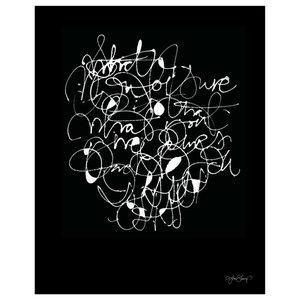 """Not Sure"" Paper Print by Ylva Skarp, 40x50 cm"