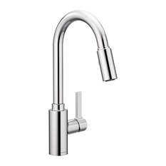 Moen Genta Chrome 1-Handle Kitchen Faucet