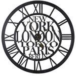 Agnes Wall Clock Industrial Wall Clocks By Howard Miller