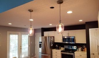 Kitchen, living room & entry way lighting upgrade