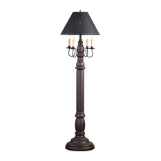 General James Floor Lamp Americana Espresso with Shade