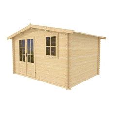 Wooden Storage Shed Kit Optima12 by Solid Build, 12'x12'