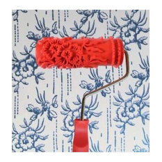 Embossed Paint Roller Wall Painting Runner Wall Decor DIY tool, Pattern 26