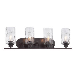 Designers Fountain Gramercy Park Lighting Fixture, Old English Bronze, 4-Light