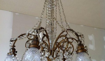 Lighting salvage...French chandelier
