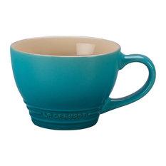 Le Creuset Caribbean Stoneware 14 Ounce Bistro Mug