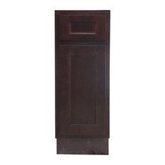 """Vanity Art Vanity Cabinet, 12"""", Brown"""
