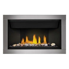 Napoleon Ascent Linear Series BL46NTE Direct Vent Gas Fireplace, Option1, Natur